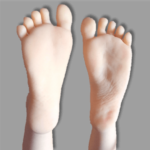 TPE Doll regular feet option