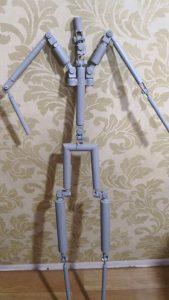 TPE Dolls new skeleton