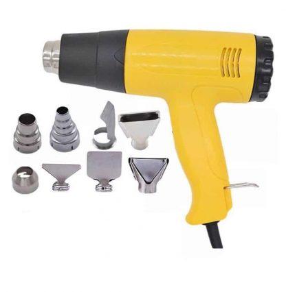 heat gun + nozzles tpe repair