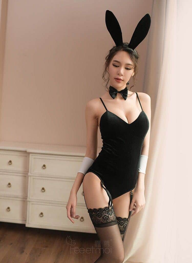 Black Bunny Outfit ...