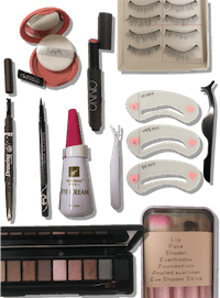 TPE Doll makeup kit