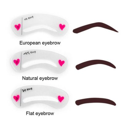 finelovedolls makeup kit eyebrow stencils