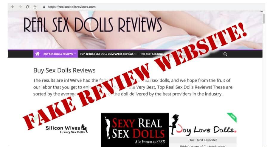 realsexdollsreviews.com - fake sex dolls reviews website - buyer caution - sex dolls scams - tpe dolls scams - fine love dolls review